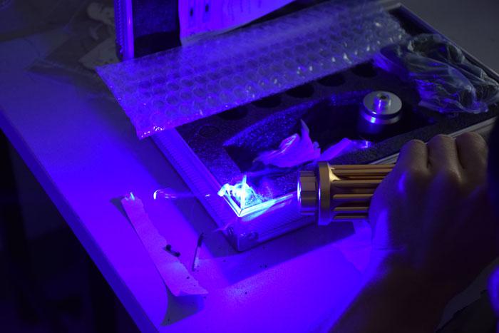 30000mw高出力ブルーレーザーポインター