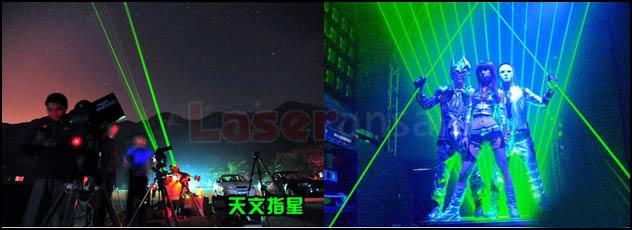 5パターン蛍/満天の星 5in1 焦点調整 5000mwレーザーポインター