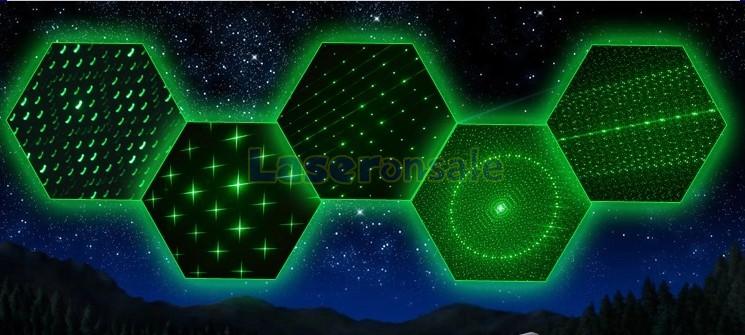 緑色レザーポインター