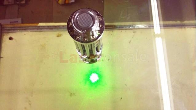 防水 グリーレーザーポインター 五つ星空キャップ搭載 保護メガネ