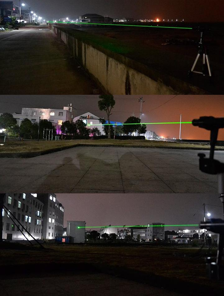 3000mW緑レーザーポインター