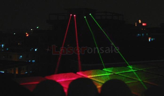 緑色レーザー