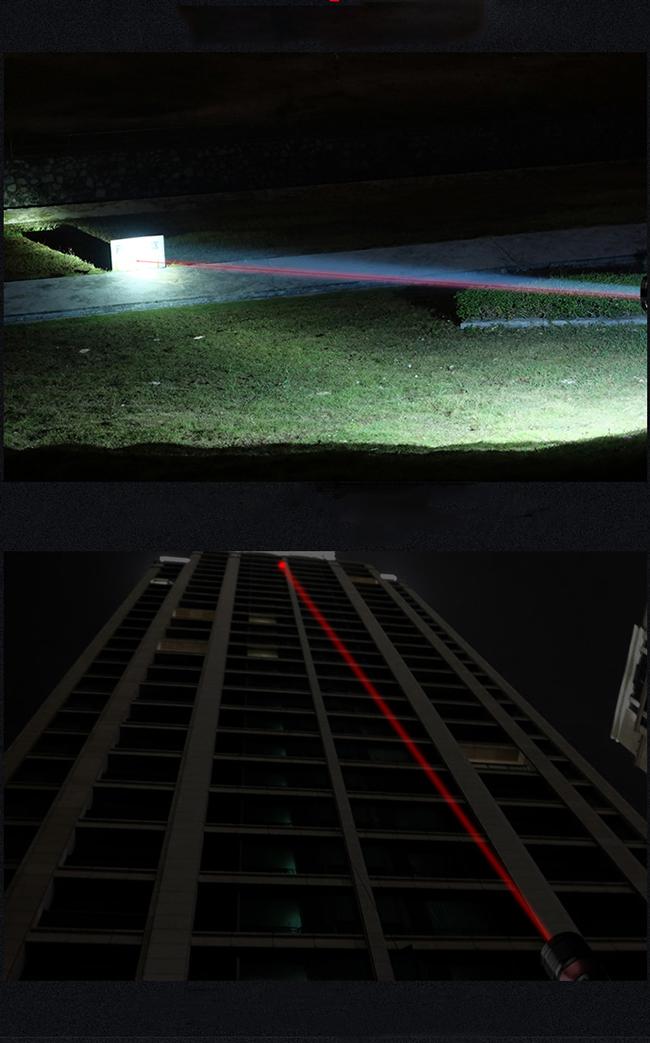 フラッシュ ライト レーザー ポインター