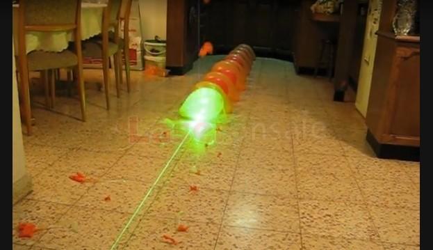 緑色レーザーポインター高出力の5000mw焼跡のマッチ、タバコ,5in1激安人気