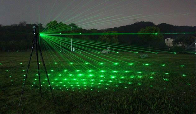 ハイパワーグリーンレーザー懐中電灯 3000mwグリーンレーザーポインター