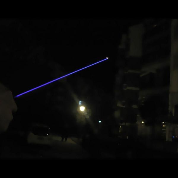 青色レーザーポインター