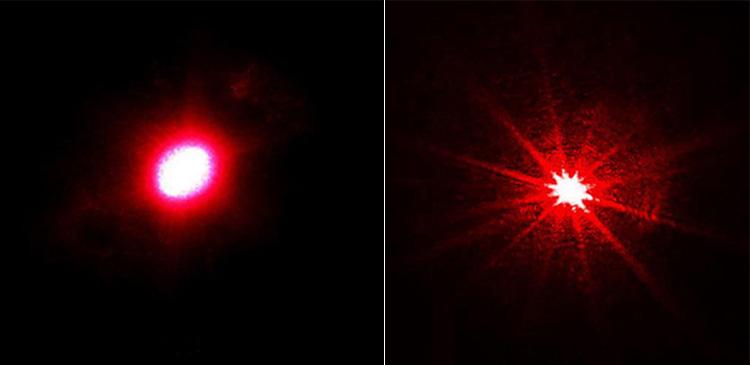 レッドレーザーモジュール 赤色レーザー発光モジュール ドット状