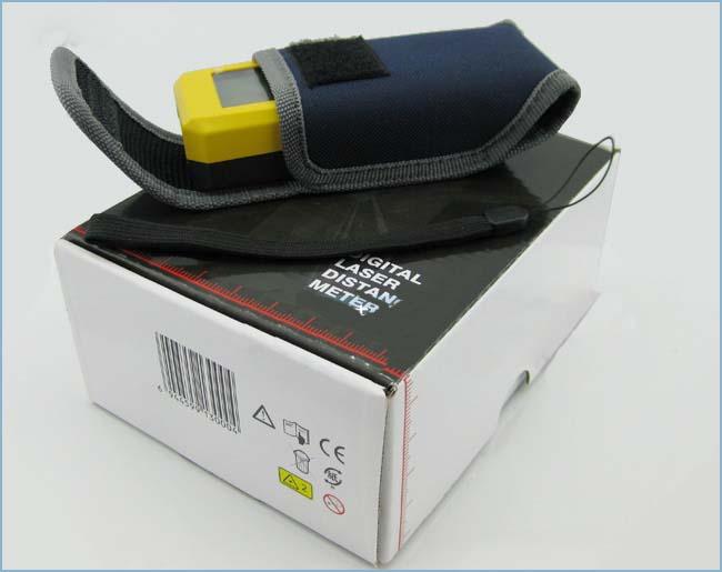 赤外線レーザー距離計 携帯型レーザー距離計 精度高い