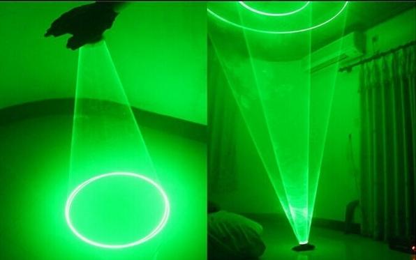 緑色レーザーグローブ 回転ダンスクラブ