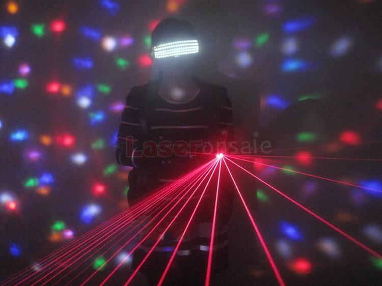 レーザー LED メガネ 眼鏡