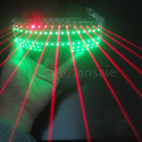レーザー LED メガネ 眼鏡 サングラス パーティーグッズ 仮装 ダンス フェス 高品質 新品