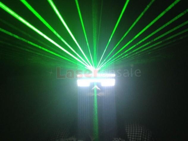 新品 レーザー LED メガネ 眼鏡