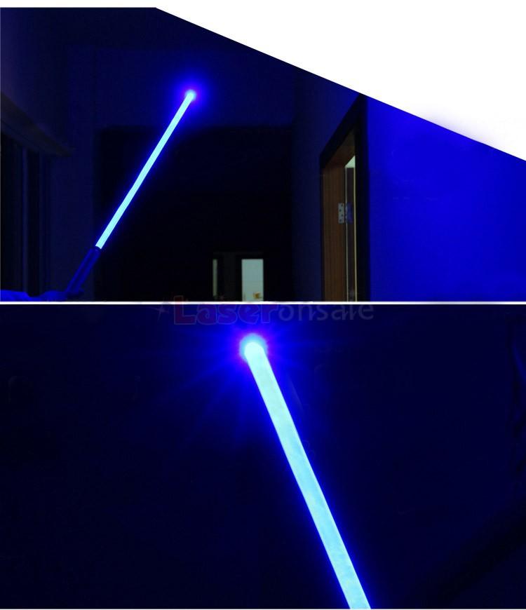 最強青色20000mwレーザーポインター 超強出力 5in1 高性能ブルーレーザー懐中電灯