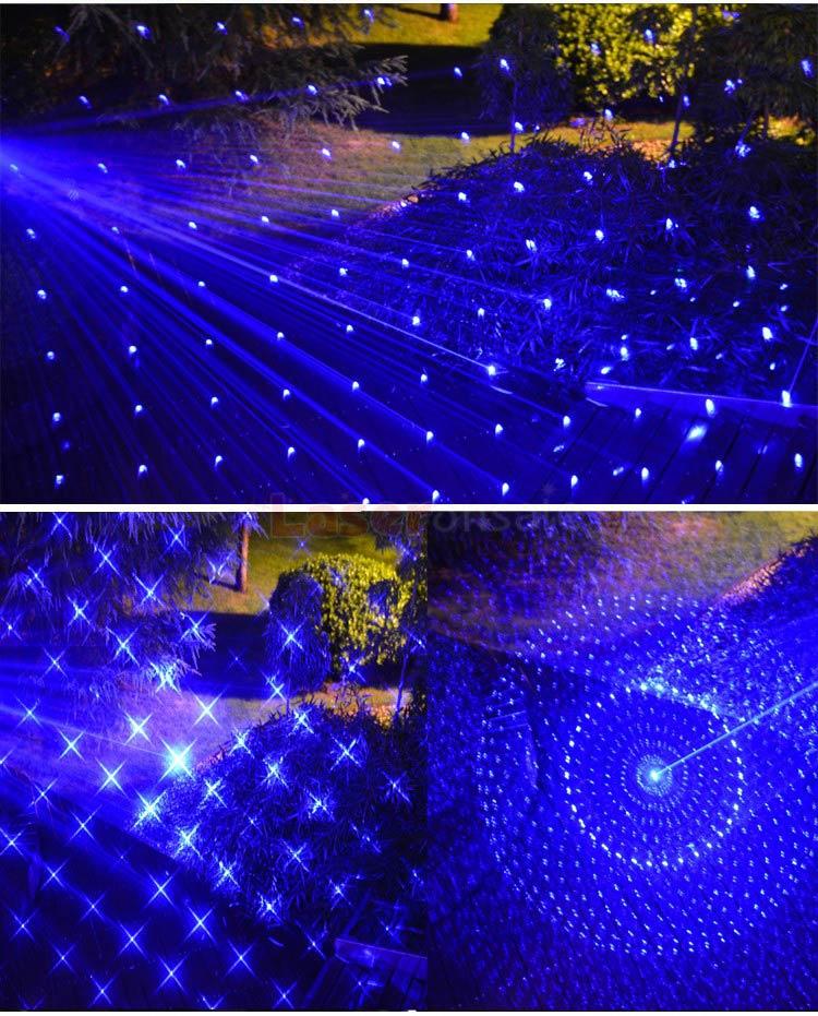 レーザーポインター超高出力満天星 防水5in1人気新品10000mw