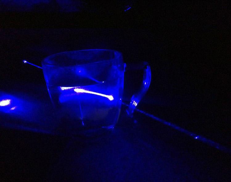 新品10000mw青色レーザーポインター