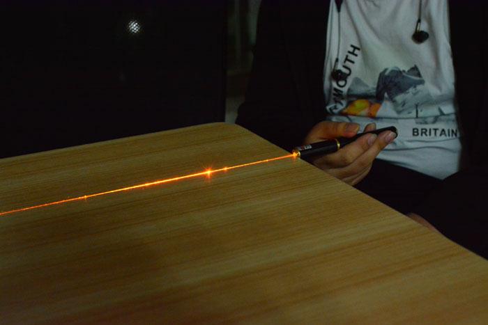 高出力レーザーポインター50mw黄