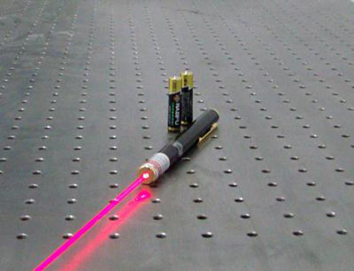 635nm蔷薇色レーザーポインター