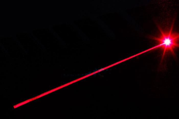 レッド 強力レーザーポインター屋内
