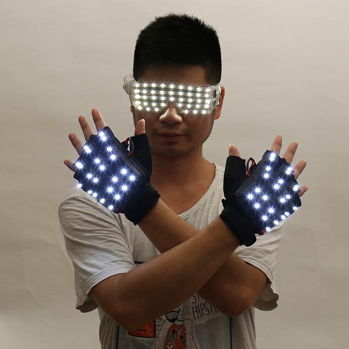 LED発光グローブ 男女通用