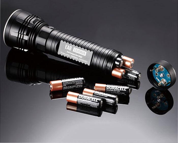 防水5段階LED懐中電灯
