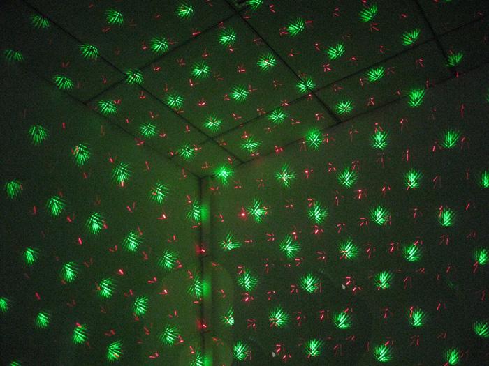 グリーン/レッド2色発光
