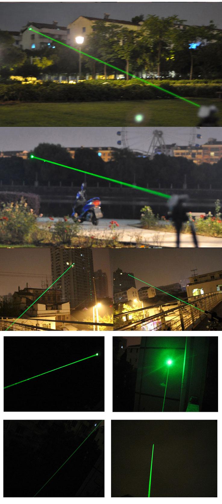 緑色レーザーポインター