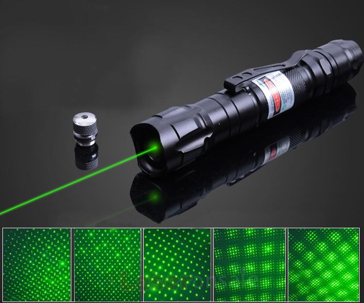 満天星2000mwグリーンレーザーポインター 超高出力