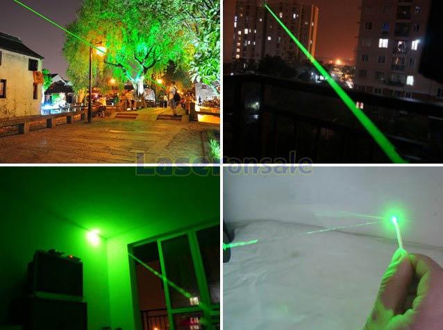 200mwグリーンレーザー 懐中電灯レーザーポインター緑