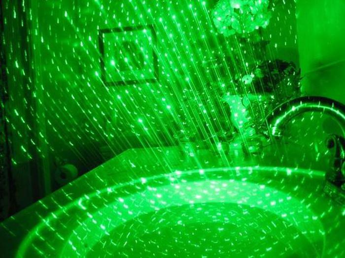 レーザー18650電池 满天星 星キャップ付き 星空観察