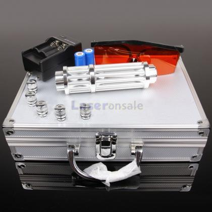 10000mw高出力レーザーポインター グリーレーザーポインター 五つ星空キャップ搭載 保護メガネ、充電器付き マットやタバコに簡単に火をつける