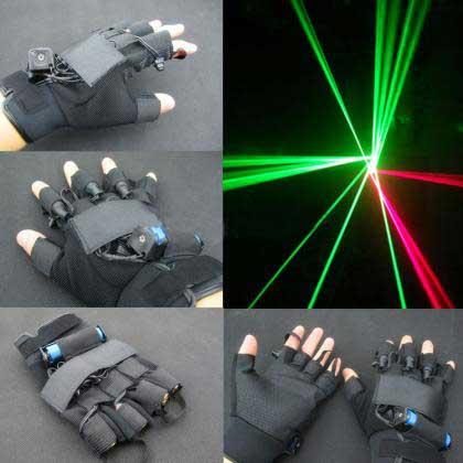 レーザー手袋