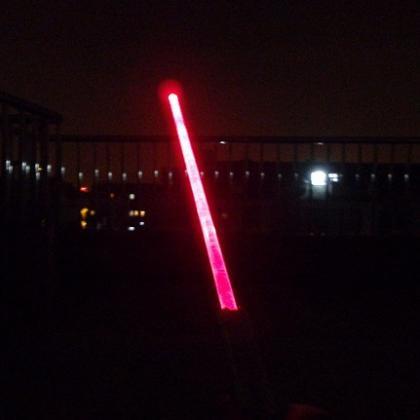 1000mW赤色レーザーポインター